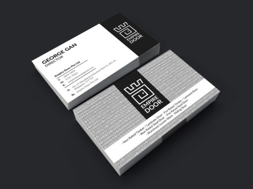 Logo and Business Card Design for Empire Door