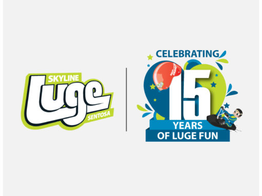Anniversary Logo for Skyline Luge Sentosa