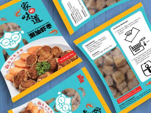 Food Packaging Design for Hock Hoe Heng