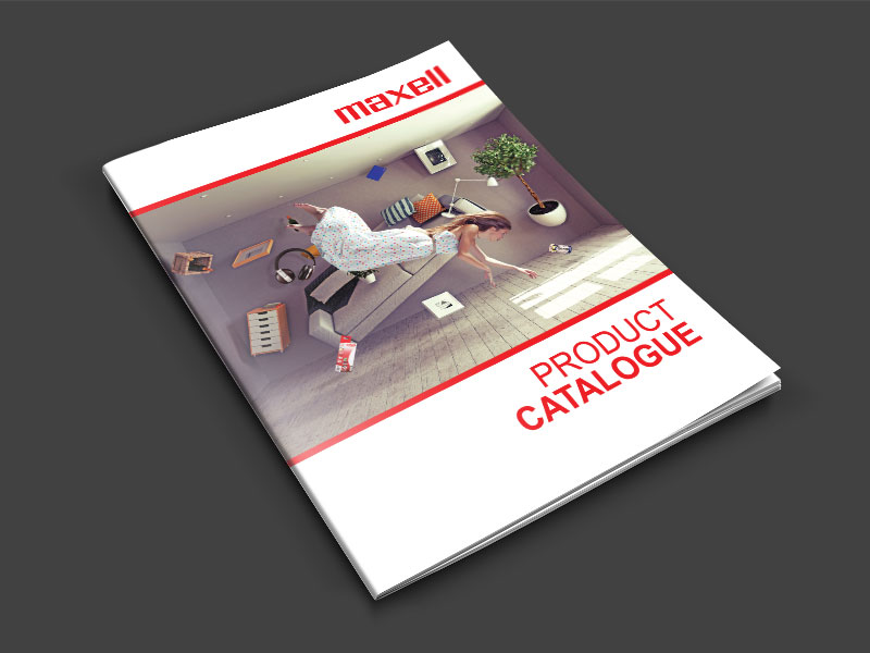 Product Catalogue for Maxell Asia (S) Pte Ltd