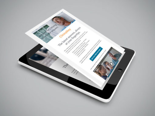 EDM (E-Direct Mailer) design for Elsevier