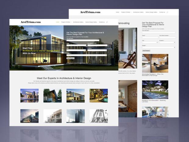 Website Design and Development for Arsitrium