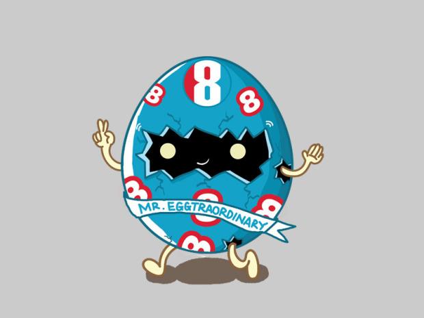 MAKE8NICE Mascot Designs by Aaron Yeo