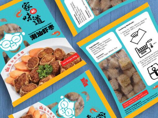 Food Packaging Design for Hock Hoe Heng